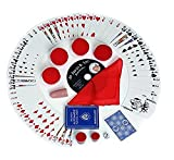 Magic Makers 100+ Magic Tricks Complete Kit, Everything Today's Magician Needs, Classic Red