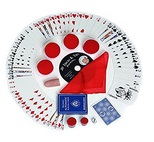 Magic Makers 100+ Magic Tricks Complete Kit, Everything Today's Magician Needs, Classic (Crazy Magic Tricks)