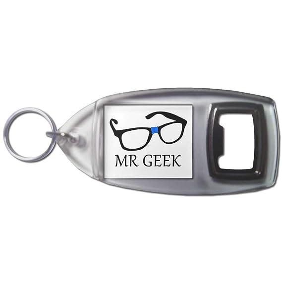 BadgeBeast.co.uk Mr Geek - Llavero abridor de botellas de ...
