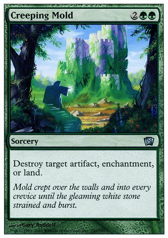 Creeping Mold (Magic: the Gathering - Creeping Mold - Eighth Edition)