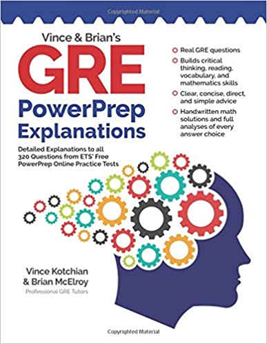 Download pdf vince and brian s gre powerprep explanations: detailed e….