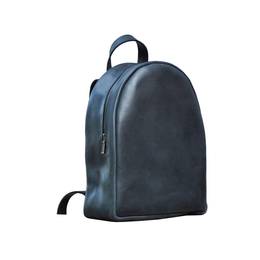 Mini backpack from genuine leather. Backpack for women. Handmade backpack