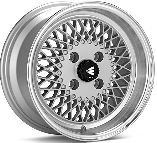 15×7-Enkei-ENKEI92-Silver-w-Machined-Lip-WheelsRims-4×100-465-570-4938SP