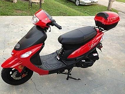 Amazon Com 50cc Gas Street Legal Scooter Taotao Atm50 A1 Blue