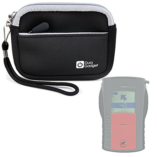 DURAGADGET Premium Quality Black Neoprene Compact Case for the Mammut Barryvox Pulse (DVA) Avalanche Transceiver (Avalanche Beacon Pulse)