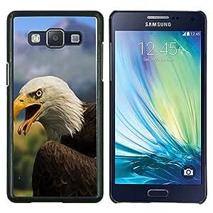 - Eagle - - Cubierta del caso de impacto con el patr??n Art Designs FOR Samsung Galaxy A5 A5000 A5009 Queen Pattern