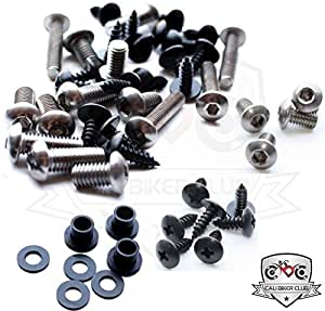 Kawasaki Ninja ZX-14R ZX14 2006-2011 Motorcycle Fairing Bolt Kit, Screws, Bolts, Fasteners 06 07 08 09 10 11