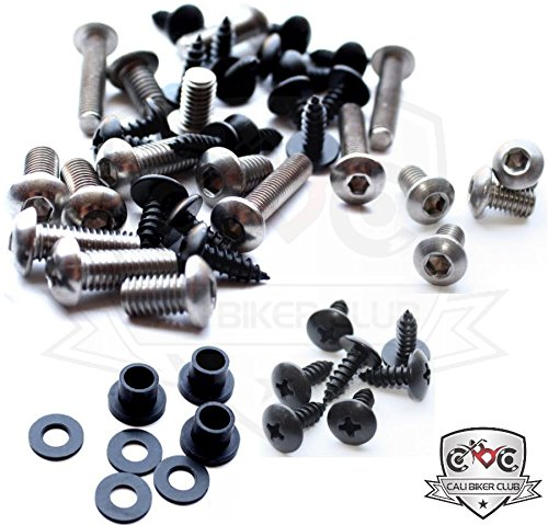 2008 Suzuki Hayabusa Motorcycle (Suzuki GSX1300R Hayabusa 2008-2010 Motorcycle Fairing Bolt Kit, Screws, Bolts, Fasteners GSX 1300 Busa 08 09 10)