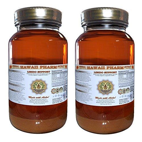 Libido Aid Liquid Extract, Herbal Libido Enhancer 2x32 oz by HawaiiPharm