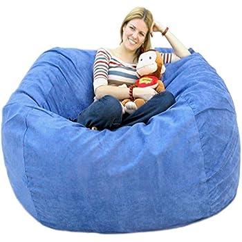 Amazon Com Cozy Sack 5 Feet Bean Bag Chair Large Sky