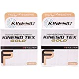 Kinesio Taping - Kinesiology Tape Tex Gold FP - 2 Pack - Beige - 2 in.