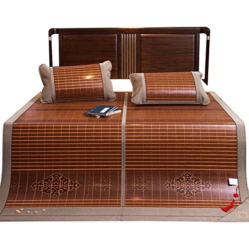 YXWzd Cool Bambusmatte Summer Collapsible Heat Dissipation Pad glatt Cool Matratze EIS Schlafmatte 0,9 m   1,2 m   1,35 m   1,5 m   1,8 m   2,0 m Bett (größe   1.8m2.2m Bed)  0.9m bed