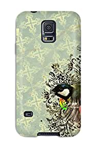 Stony L. Hicks Design High Quality Vintage Cover Case With Excellent Style For Galaxy S5