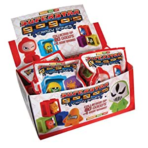 Magic Box GoGo's Crazy Bones Superstars - Juego de figuritas coleccionables (24 unidades)