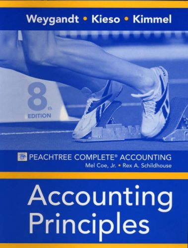 Accounting Principles, Peachtree Complete Account Workbook
