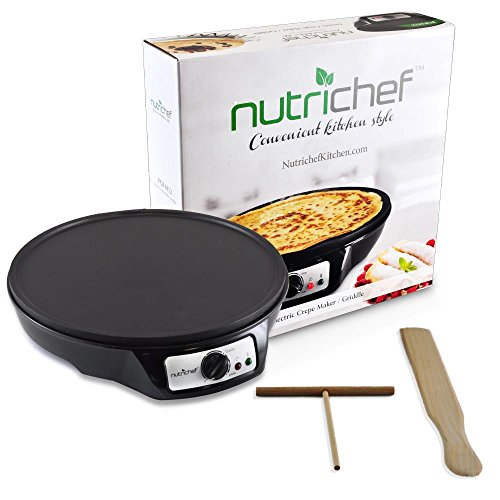 Review NutriChef Electric Crepe