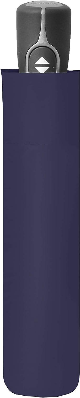 Dunkelblau Auf-Zu-Automatik Sehr leicht durch Fiberglas doppler Taschenschirm Fiber Magic Uni