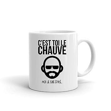 C Est Moi Le Mugtasse Je Style Toi Suis Générique Blanc Chauve Yv67bgfy