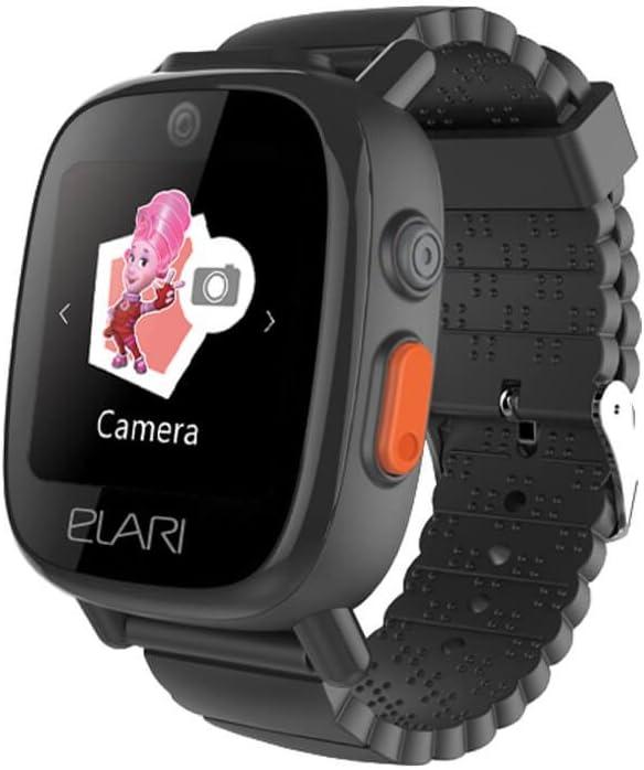 Elari - FixiTime 3 Smartwatch Reloj para Niños con GPS Tracker, Botón SOS, MicroSIM GSM 900/1800, Altavoz, Micrófono, Aplicación Android / iOS, Batería de 600 mAh - A Prueba de Humedad