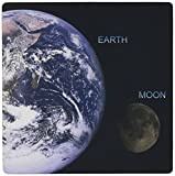 3dRose LLC 8 x 8 x 0.25 Inches Mouse Pad, Solar System - Earth and Moon (mp_76842_1)