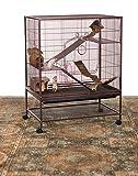 Prevue Rat and Chinchilla Cage 495 Earthtone Dusted