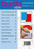 Burda Tracing Carbon Paper 1 x Blue 1 x Red by Burda