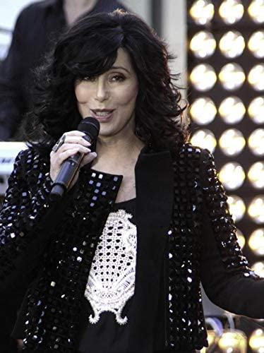 30 x 24 Cher performing for The Today Show Toyota Concert in Rockefeller Center New York City Photo Print
