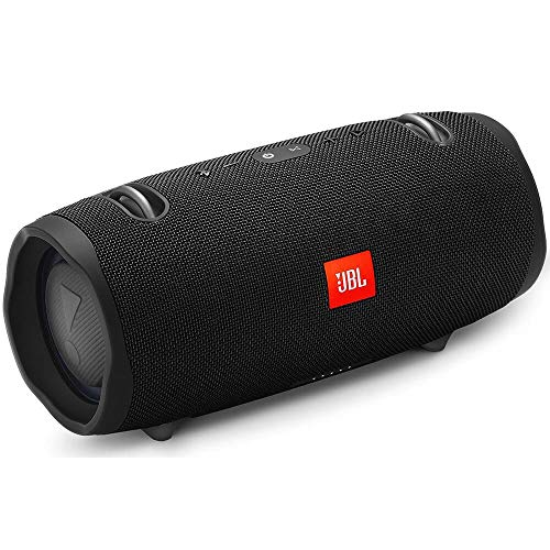 JBL Xtreme 2 Portable Waterproof Wireless Bluetooth Speaker - Black (Renewed) (Extreme Bluetooth Speaker)