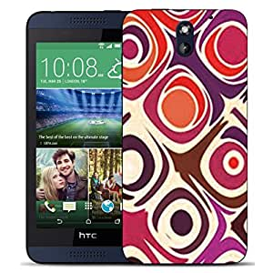 New Hard Printed BEAU ARTS Cover for HTC Desire 610 case - cylinder & Stylus by ruishername