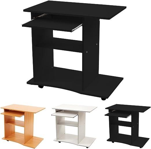 Mesa Ordenador para PC Computer Escritorio Teclado Casa Oficina ...