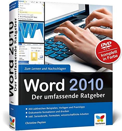 Word 2010 Der Umfassende Ratgeber Amazon De Christine