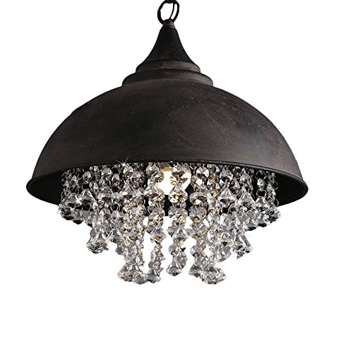 Industrial Wrought Vintage Crystal Pendant product image