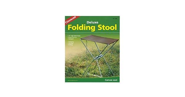 Amazon.com: Coghlan S Deluxe plegable Camp Stool: Sports ...