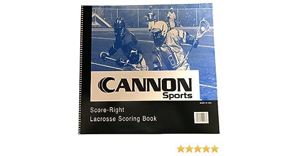CSI Cannon - Cuaderno de puntuación para Hombre: Amazon.es ...