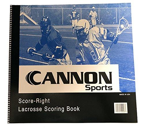 CSI Cannon Sports Men's Lacrosse Scorebook by CSI Cannon Sports