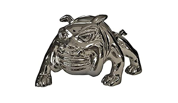 Bull Dog CHROME Hood Ornament Emblem tm CPW Peterbilt Freightliner Kenworth Mack