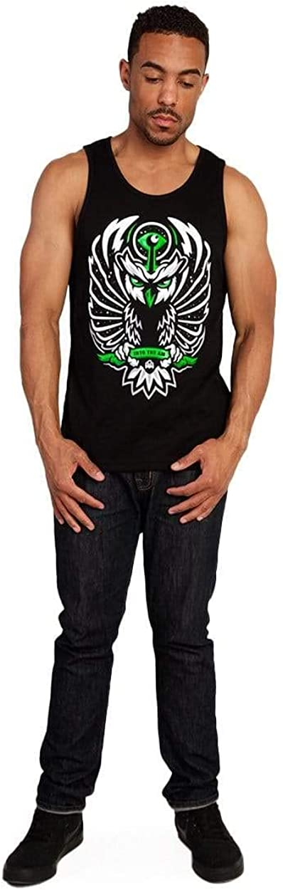 Mens Sleeveless Shirts Beach Summer INTO THE AM Graphic Tank Tops for Men