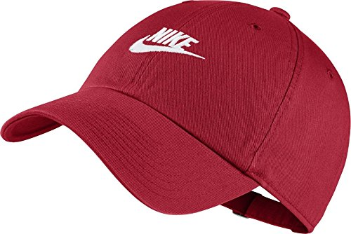 f50ab038 Nike Heritage H86 Futura Washed Cap 913011-657 (Red and White): Amazon.in:  Clothing & Accessories