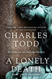 Front cover for the book A Lonely Death by Charles Todd