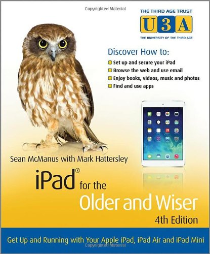 iPad for the Older and Wiser, 4th Edition Front Cover