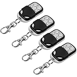 XCSOURCE 4pcs Electric Cloning Universal Gate Garage Door Opener Remote Control Fob 433mhz Replacement Key Fob HS641