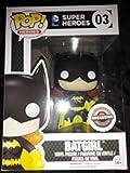 Funko Pop DC Super Heroes Batgirl Black and Yellow Exclusive Vinyl Figure