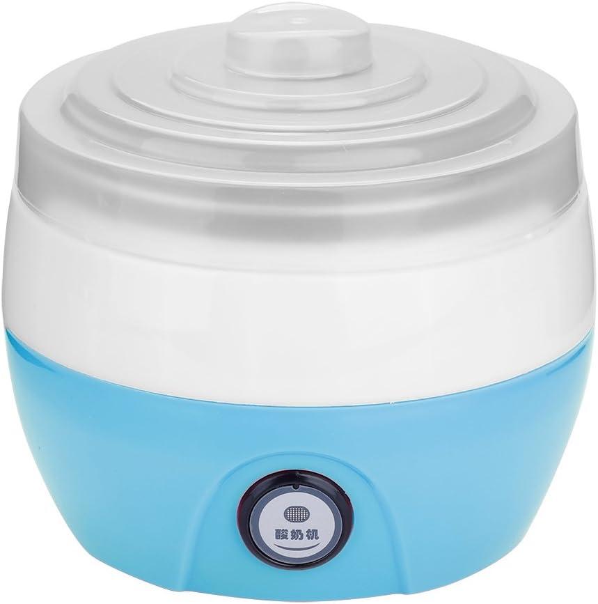 1L Stainless Steel Inner Container Digital Yogurt Machine, DIY Maker Yogurt Maker Machine, for Home Kitchen(blue)