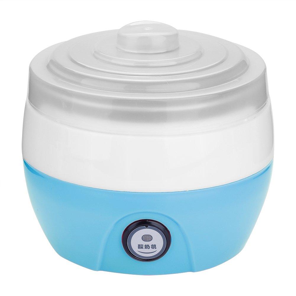 Automatic Yogurt Maker, 1L Household Electric Automatic Yogurt Yoghurt DIY Maker Stainless Steel Inner Container 220V, Yogurt Maker(Blue) by Fishlor