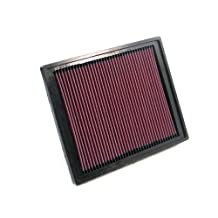 K&N 33-2337 High Performance Replacement Air Filter by K&N