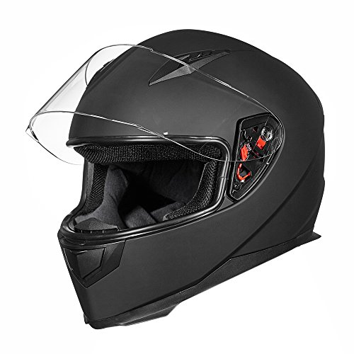 Ilm Full Face Motorcycle Street Bike Helmet With Removable
