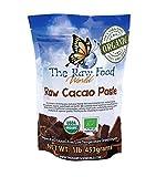Raw Organic Cacao Paste, 16oz, The Raw Food World