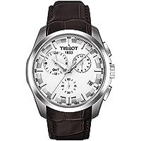 Tissot Couturier GMT White Dial Men's Watch