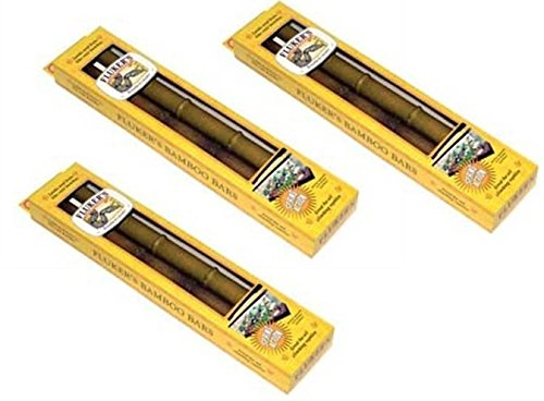 Fluker's Bamboo Bars - 6 Total (3 Packages with 2 per Package) by Fluker's