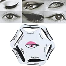 NALATI 6 in 1 Stencil For Perfect Cat Eyeliner And Smoky Eyes Makeup Tool